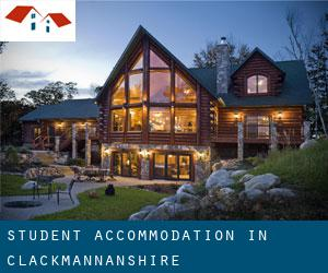 Student Accommodation in Clackmannanshire