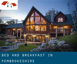 Bed and Breakfast in Pembrokeshire