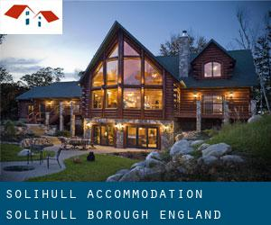 Solihull accommodation (Solihull (Borough), England)
